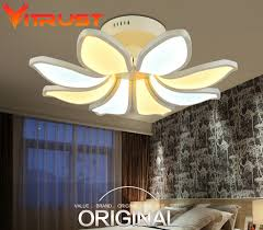 home decor ceiling lights home decor ceiling light l for bedrooms flower shape led