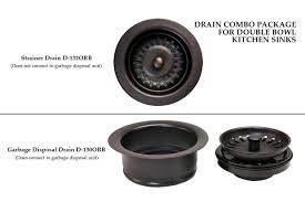 Premier Copper Products DCORB Drain Combination Package For - Kitchen sinks drains
