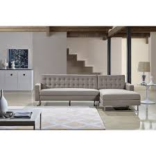 Overstock Sectional Sofas Dorris Fabric Contemporary Right Chaise Sectional Sofa Set Free