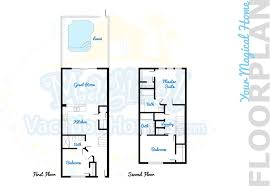 sony centre floor plan see the mouse townhouse 3 bed townhome windsor hills resort