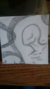 slenderman sketch by nasuki100 deviantart com on deviantart