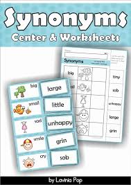 49 best free synonyms antonyms printables images on pinterest
