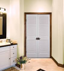 Louvered Closet Doors Interior Primed White Louvered Doors By Homestory Doors Homestory
