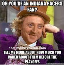 Pacers Meme - playoffs ec finals game 6 heat pacers 6 1 8 30 pm et tnt realgm