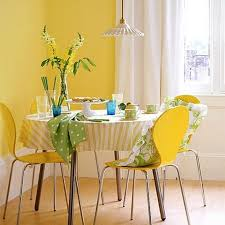 15 breezy yellow dining room designs rilane