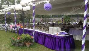 wedding ceremony canopy small marquees in the span of 6x6m 6x9m 10x27m sale for catering