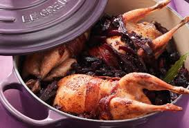 cuisiner les cailles recette de cocotte de chou et cailles open kitchen