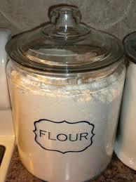 Storage Containers For Flour Three Pink Dots Goodness Gracious Great Jars Of Flour