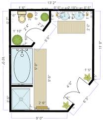 Bathroom Design Software Free Online Tool Designer  Planner - Bathroom floor plan design tool