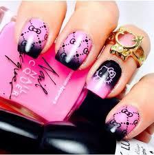 36 best hello kitty nails images on pinterest hello kitty nails
