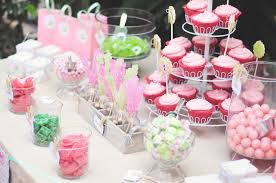 photo baby shower candy buffet image