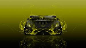 yellow lamborghini front lamborghini gallardo tuning front fire abstract car 2015