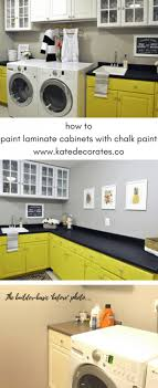 can i use chalk paint on laminate cabinets how to paint laminate cabinets with chalk paint kate decorates