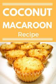 coconut macaroon recipe panlasang pinoy