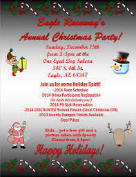 annual christmas party u2013 eagle raceway