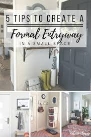 home bloggers 5 tips to create a foyer or entryway in a small apartment foyers