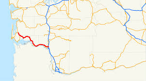 Washington State Printable Map by Washington State Route 4 Wikipedia