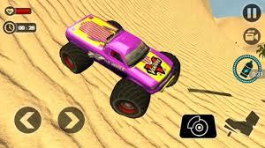 monster truck racing games road monster truck desert video