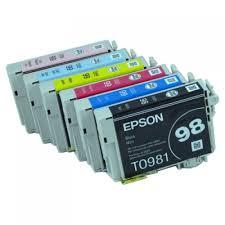 epson ink 99 light magenta one set 6 oem epson 98 99 ink cartridges