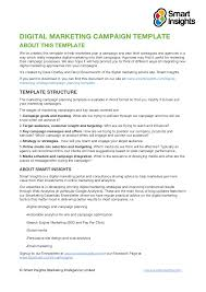 sample marketing campaign sample marketing plan note converted