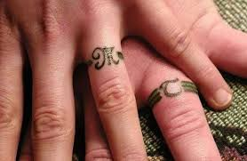 tattoo wedding rings the new way of exchanging of vows newsdog
