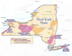Ithaca Ny Map Wines From New York The Finger Lakes U2013 Tour De Force Wines