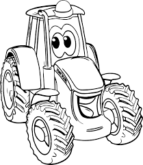 tractor coloring pages john deere coloring pages