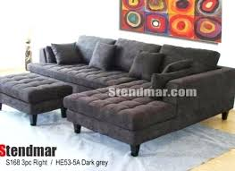 Gray Fabric Sectional Sofa Sectional Dark Gray Sectional Couches Charisma Sectional