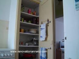 la cuisine du placard aménagement de placard rénovation annecy