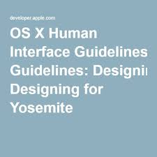 human interface design the 25 best human interface guidelines ideas on apple