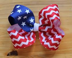 fourth of july hair bows diy 4th of july clothing and accessories the idea room