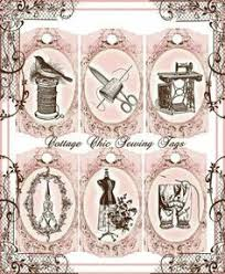 vintage shabby chic dress form sewing machine buttons thread