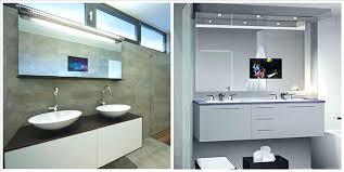 built in bathroom mirror tv in the bathroom mirror smart design mirror bathroom behind for