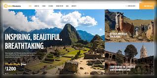 theme bureau 15 modern clean travel agency themes 2017 colorlib
