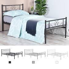 twin platform bed ebay