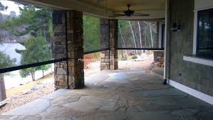 Outdoor Patio Pull Down Shades Roll Down Screens For Your Home Or Business Manufacturers Of