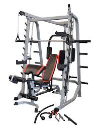 buy reeplex smc pro smith machine weight bench included