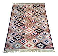 Cotton Wool Rugs Reversible Colorful Kilim Rug 3 U203211 U2033 5 U203211 U2033 Products Rugs And