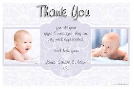 10 personalised christening baptism birth thankyou thank you photo