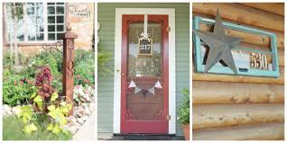 attractive house numbers ideas country living magazine home design