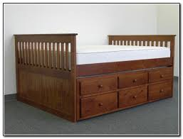 full size captains bed with trundle beds home design ideas