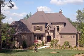 french country house plans for a 2 story 4 bedroom home