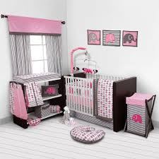 girls bedding pink baby bedding pink and grey baby bedroom set nursery