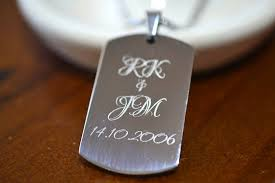 customized dog tag necklaces personalized dog tag necklace anniversary gift for men steel