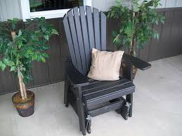 Amish Poly Outdoor Furniture by Amazon Com Outdoor Poly Adirondack Gliding Chair Amish Made
