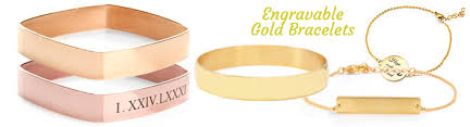 customized gold bracelets personalized gold bracelets gold bracelets