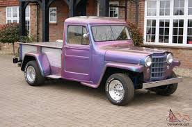 purple jeep willys jeep american customised rod pro street unique