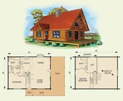 small cabin floor plans with loft cabin floor plans with a loft home deco plans