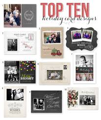 top 10 holiday card templates from jamie schultz designs jamie
