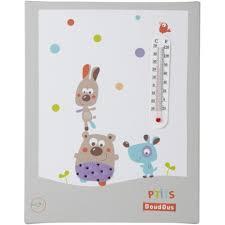 thermomètre mural chambre bébé thermomètre mural p doudous domiva animaux